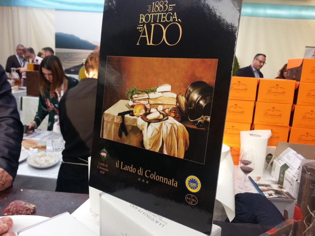Confezione di lardo della Bottega di Adò