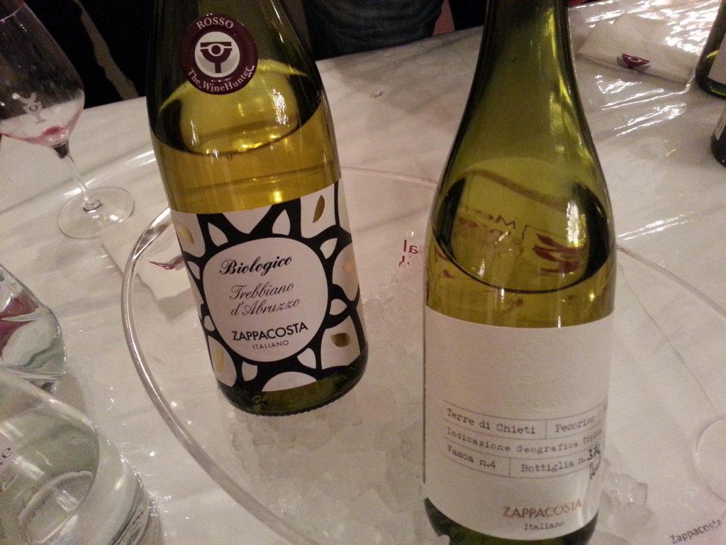 2 bottiglie di vino abruzzese azienda Zappacosta